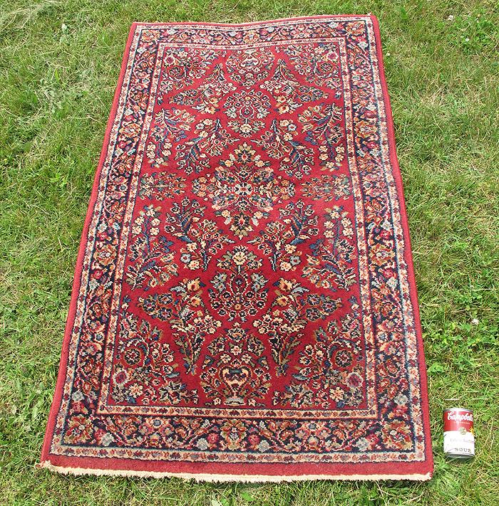 Vintage Karastan Wool Sarouk Rug Pattern #785 Oriental