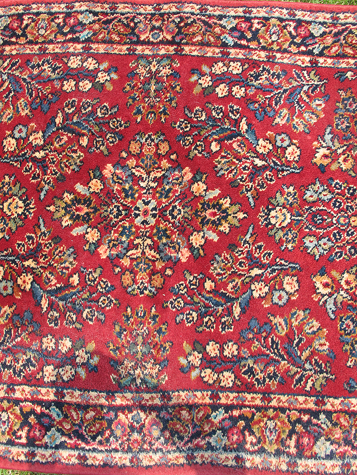 Vintage Karastan Wool Sarouk Rug Pattern 785 Oriental